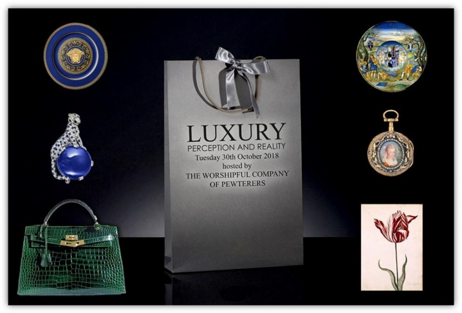 Worshipful Company of Pewterers - Lecture on Luxury